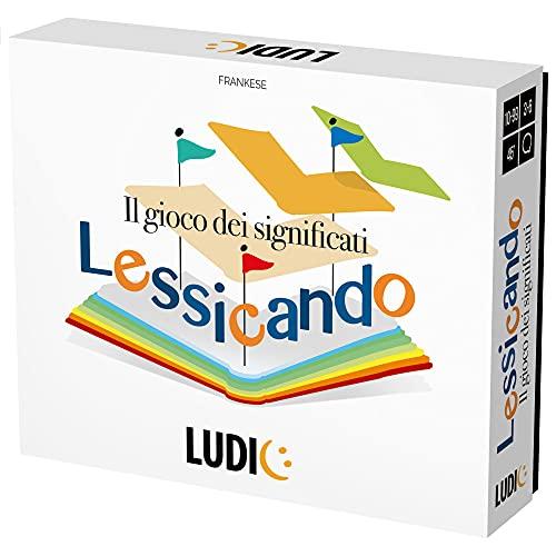 Ludic - Lessicando - Juego de Sociedad para Toda la Familia.