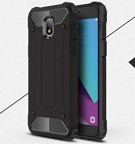 NANXCYR Für Samsung a10e / m10 / m20 / a10 / m30 Fall, 2 in 1 stück TPU Fall Anti-Drop stoßfest Abdeckung, für Samsung s6 Edge / s6 Edge Plus / s6,Schwarz,SamsungS6