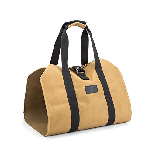 LJXLXY Field portable storage bag Oxford cloth wear-resistant large-capacity logging bag timber transport bag