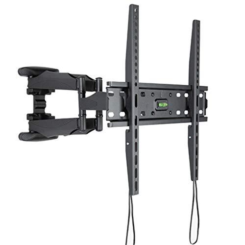 RENSLAT Soporte para TV 32-55 Pulgadas 6 Brazos Soporte de Pared para TV LCD Soporte Giratorio de Montaje en Pared para TV de Movimiento Completo hasta VESA 400x400mm y 88lbs