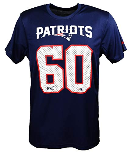 New Era England Patriots T Shirt/tee NFL Supporters Navy - M
