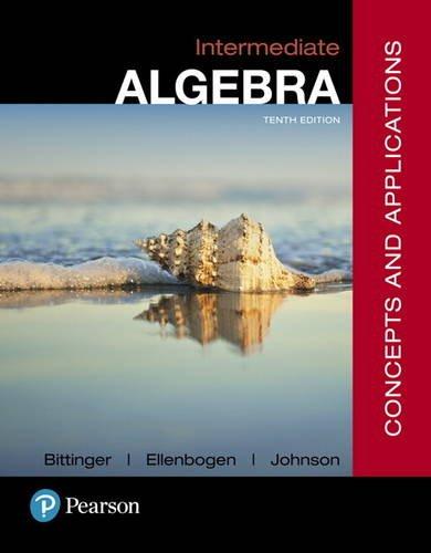 Intermediate algebra: concepts and applications