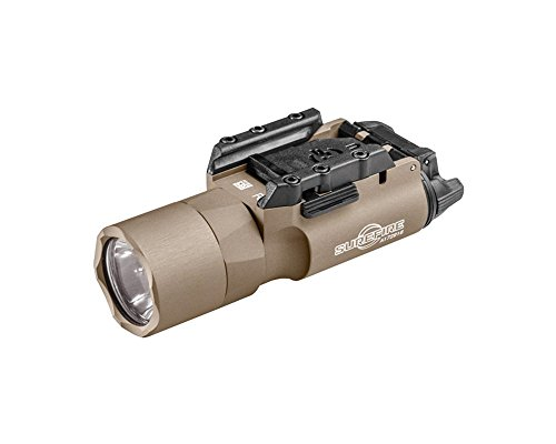 SureFire X300 Ultra LED Handgun or Long Gun WeaponLight with Rail-Lock Mount, Tan
