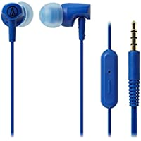 Audio Technica ATH-CLR100iSBL SonicFuel In-ear Headphones