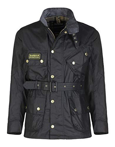 Barbour International™ Mens Original Wax Jacket Black 44