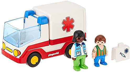 Playmobil 1.2.3 9122 - Ambulanza, dai 18 mesi
