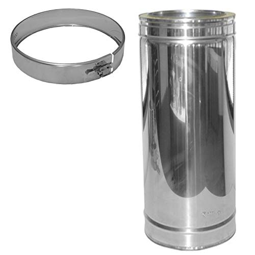 Laengenelement 440mm für Schornsteinsets 150mm