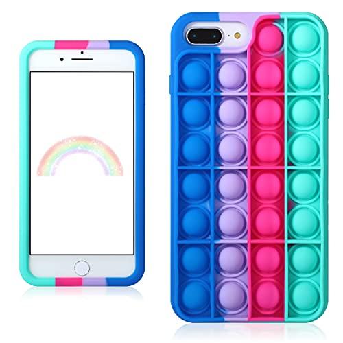 Besoar Blue Rose Fidget Case for iPhone 6 Plus/6S Plus/7 Plus/8 Plus 5.5'...