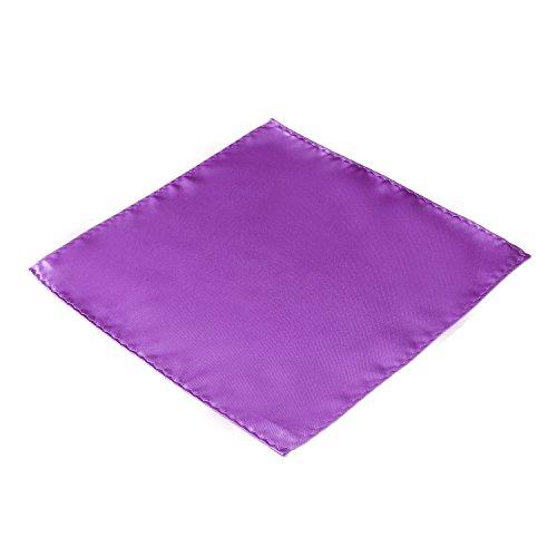DonDon homme Pochette de costume lilas