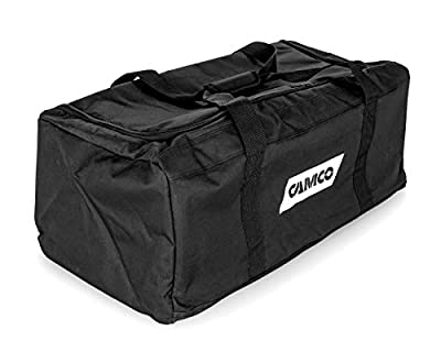 Camco Durable All Purpose RV Storage Bag with Internal Compartments - Securely Holds RV Stabilization, Electrical, & Sanitation Equipment | Excellent for RV Accessories, Campers, & Trailers - (53246) by Camco
