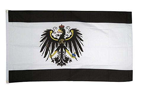 Flaggenfritze Fahne/Flagge Preußen + gratis Sticker