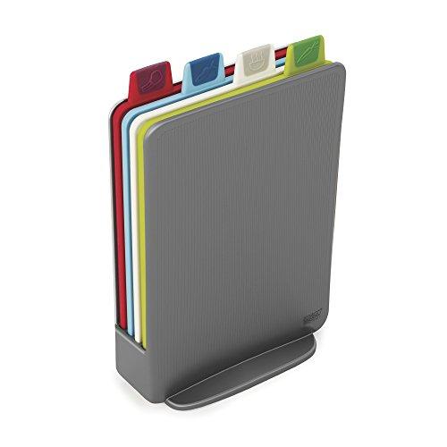 Joseph 100 índice de colección tabla de cortar de acero inoxidable con tableros k Multicolor
