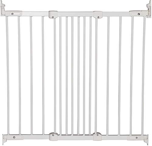 BabyDan - 5514-5400-00 - Barrière - Flexi Fit - Métal / Blanc