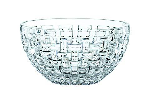 Spiegelau & Nachtmann, 2-teiliges Schalen-Set, Rund, Ø 18 cm, Kristallglas, Bossa Nova, 102254