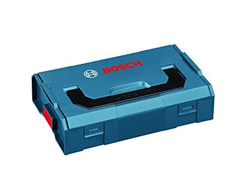 Bosch 1600A007SF Mini Professional L-BOXX Werkzeugbeh&aumllter (26 15,5 6,3&nbspcm), Schwarzblau, Negro, Azul