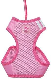 Dogo EasyGo Basic Mesh Dog Harness with Leash (xs, Pink)