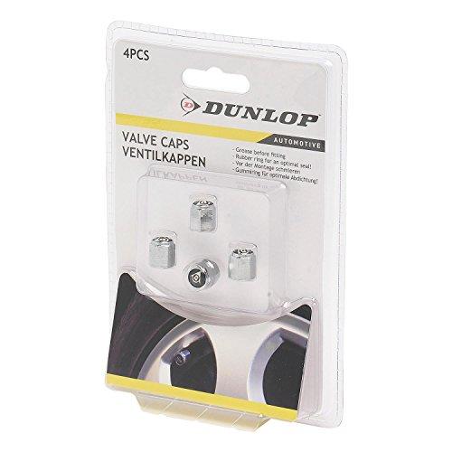 Dunlop Vehicle 871125241775Set Ventilkappen Silber