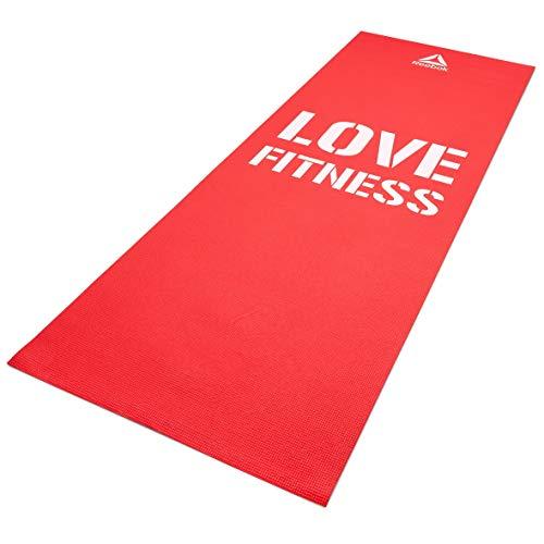 Reebok Fitnessmatte - Liebe - Rot