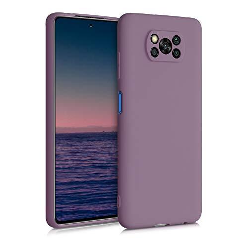 kwmobile Hülle kompatibel mit Xiaomi Poco X3 NFC/Poco X3 Pro - Hülle Handyhülle - Handy Hülle in Grape