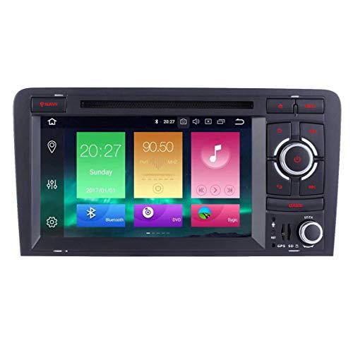 JIBO 7' Tocar Pantalla Android 8.0 Doble Estruendo Auto Radio GPS Navegación Cabeza Unidad SWC WiFi BT por Au di RS3 Sportback 2011-2012 Estéreo Multimedia Jugador Video Receptor