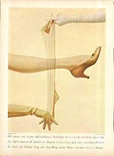 2846ec67f1 You know full-fashioned Berkshire S-t-r-e-t-c-h stockings hosiery ad 1955