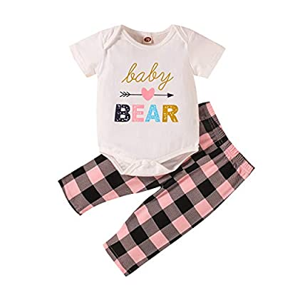 Amazon - 63% Off on Baby Girl Clothes Cute Newborn Girls Outfits Baby Girls' Clothing Set