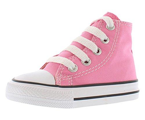 Converse Chuck Taylor All Star Core Hi, Unisex Kinder Kurzschaft Stiefel, Pink, 19 EU Kinder