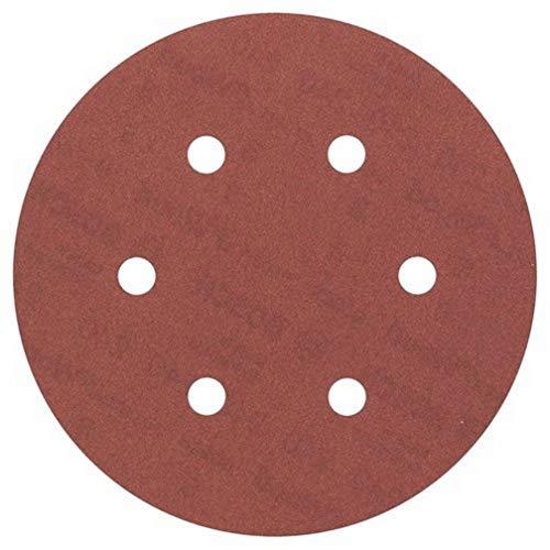 Bosch Professional Schleifblatt für Exzenterschleifer Holz und Farbe (5 Stück, Ø 150 mm, Körnung 240, C430)