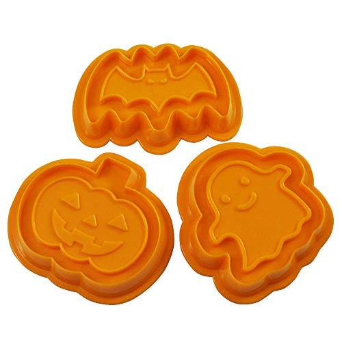 貝印 KAI クッキー型 3個セット ハロウィン コウモリ カボチャ おばけ 貝印×COOKPAD DL8004