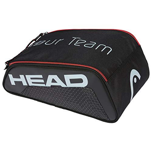 Head Bolsa para Calzado Tour Team Tenis, Adultos Unisex, Negro/Gris, Talla única
