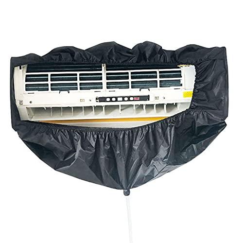 GRTBNH Copertura per Il Lavaggio dell'Aria Condizionata a Parete, Copertura per Pulizia Condizionatore d'Aria con Tubi dell'Acqua da 3 M, Borsa Impermeabile per Il Lavaggio dell'Aria Condizionata