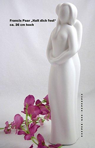 Gilde Skulptur Creme Halt Dich Fest ca 36 cm Hoch Nr 30111