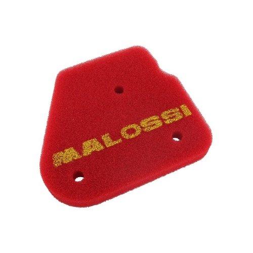 Filtro dell' aria, MALOSSI, Red Sponge, per Original AIRBOX, Malaguti F10, F12, F15, Yesterday??MBK FIZZ, forte, Hot CH