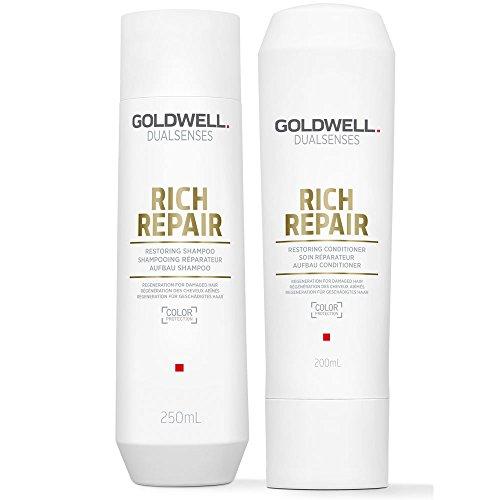 Goldwell DualSenses Rich Repair Wiederherstellung Shampoo 250ml & CONDITIONER 200ml
