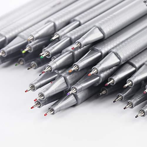 Mr. Pen- Pens, Fineliner Pens, 36 Pack, 0.4 mm, Pens Fine Point, Colored Pens, Journal Pens, Journals Supplies, School Supplies, Pen Set, Art Pens, Writing Pens, Fine Tip Markers, Bible Pens