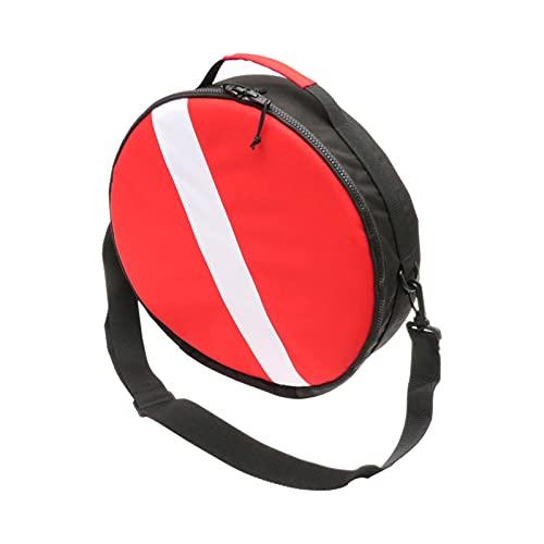 T TOOYFUL Borsa Protettiva per Attrezzatura da Sub Rotonda Borsa per Bandiera da Immersione per Snorkeling Design con Cerniera con Tracolla