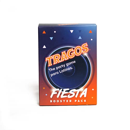 Tragos Game for Latinos - Relatable Funny Card Game for Adults (Fiesta Pack)
