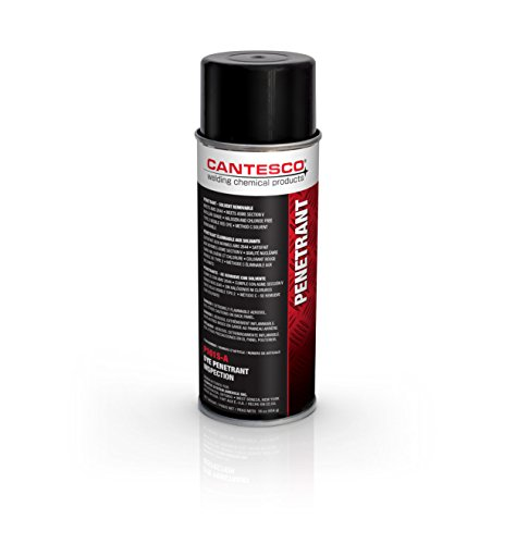 CANTESCO P101S-A Red Visible Dye Penetrant, Solvent Removable