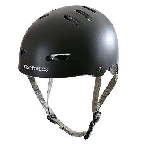 Kryptonics Step-up Helm für Scooter Skateboard & BMX für Erwachsene, Sport & Freizeit - Größe: M/L