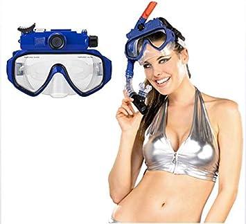 DJG Cam/éra sous-Marine Plong/ée Masque des Yeux Et Cam/éra sous-Marine HD 1080P 100 /° Grand Angle Combinaison D/étachable /Écran LCD LED