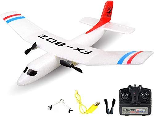 HSP Himoto 2.4GHz RC ferngesteuertes Trainer Flugzeug Flieger Glider, Optimal für Anfänger, Inkl. viel Zubehör - Komplett-Set
