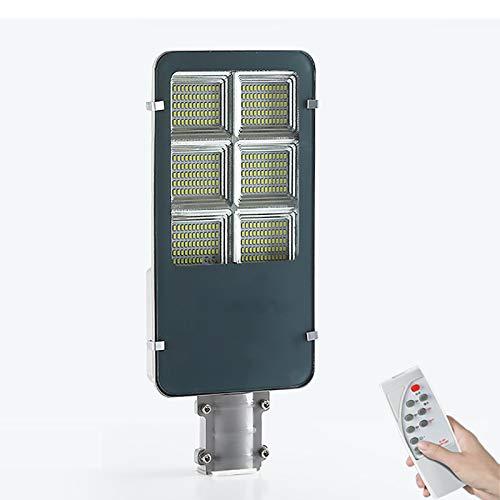 YGWL Solar Light Outdoor,LED Street Light with Remote Control,Intelligent Light Control,Adjustable Bracket,Multi-Scene Installation,for Garden Courtyard