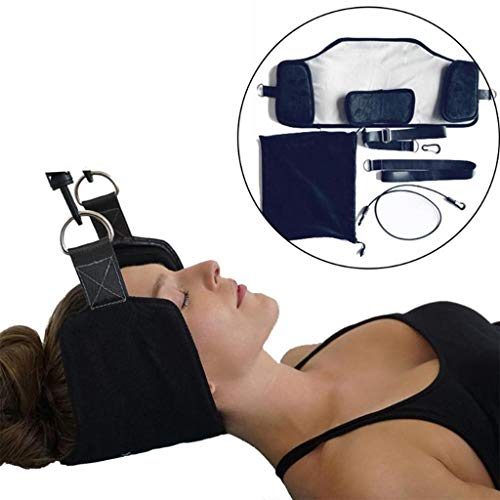 YZ-YUAN Neck Pain Relief Body Massager Hanger Spa Relax Massage Traction Device Headache Cervical Hammock Posture