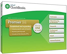 Quickbooks Premier 2016 5-user