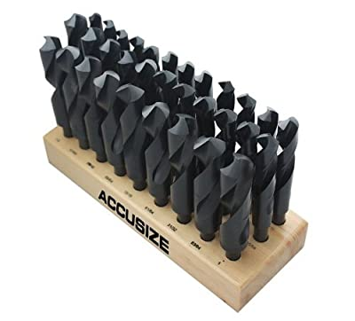 Accusize Industrial Tools Silver and Deming Drills