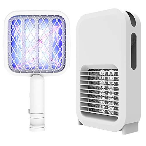 Luces para Matar Mosquitos 2 en 1 Lámpara Eléctrica para Atrapar Insectos...