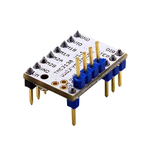 YJIA 3D Printer TMC2130 V1.1 Stepstick Moteur for Le Pilote Stepper SPI Fonction avec dissipateur de Chaleur Accessoires d'imprimante 3D