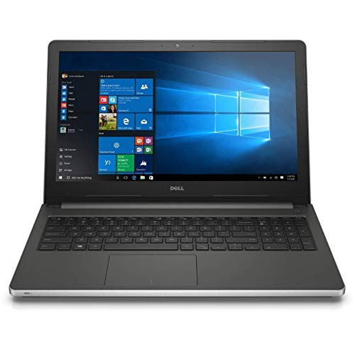 Dell Inspiron i5559-1747SLV 15.6 Inch Touchscreen Laptop (Intel Core i3, 6 GB RAM, 1 TB HDD, Silver Matte) Intel Real Sense (Renewed)