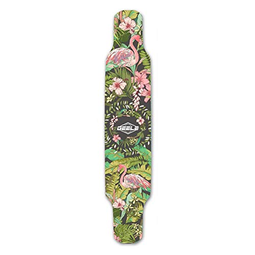 Jinclonder, roller-stickers, lang skateboard-zandpapier, slijtvast zandsticker-fijn papierzand met snijder Maat: 120 25cm