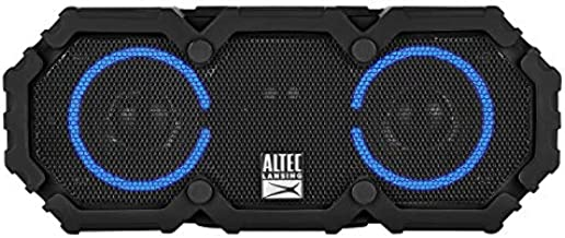 Altec Lansing IMW578L LifeJacket 3, Up to 30 Hours of Battery Life, IP67 Everything Rating: Waterproof, Dirtproof, Snowproof and it Floats! | Royal Blue (Renewed)